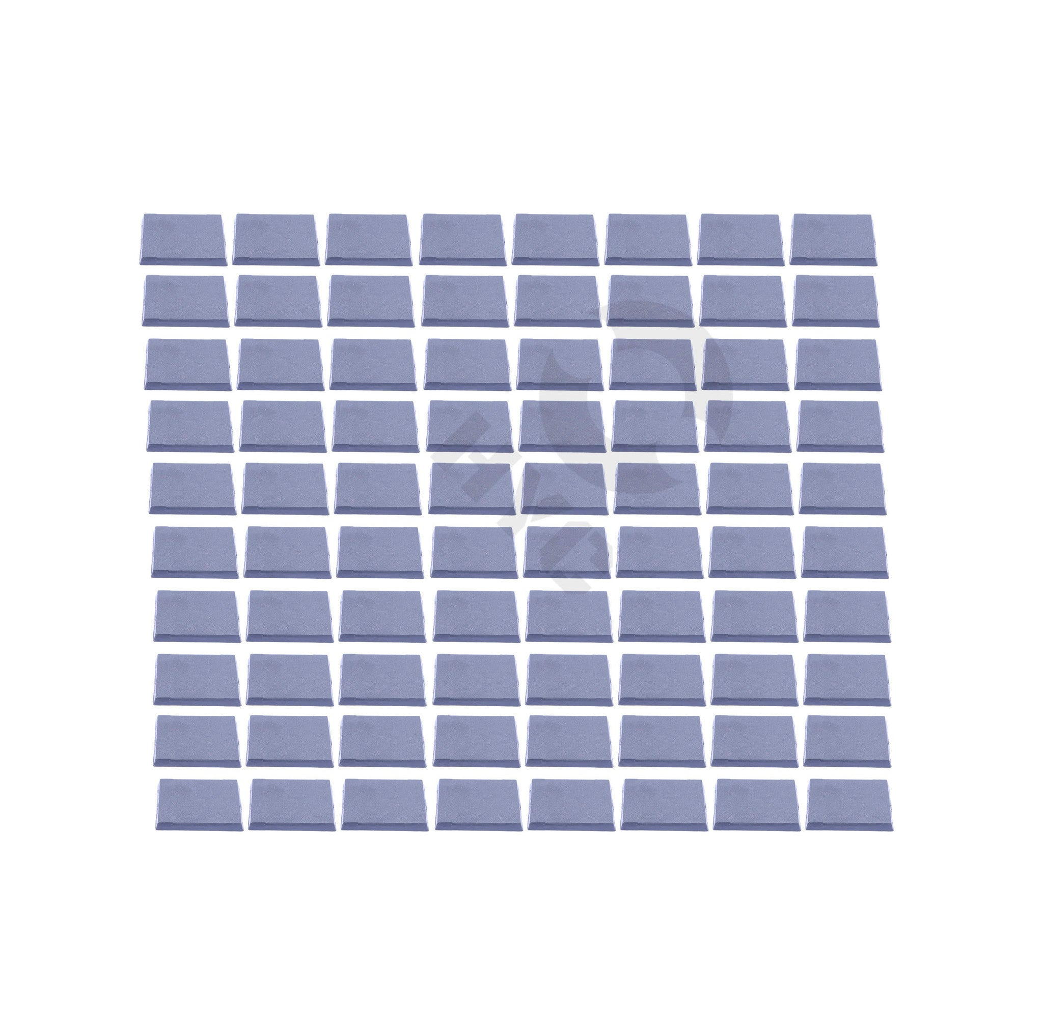 Lot of 80 40mm square bases - WargameBase Store