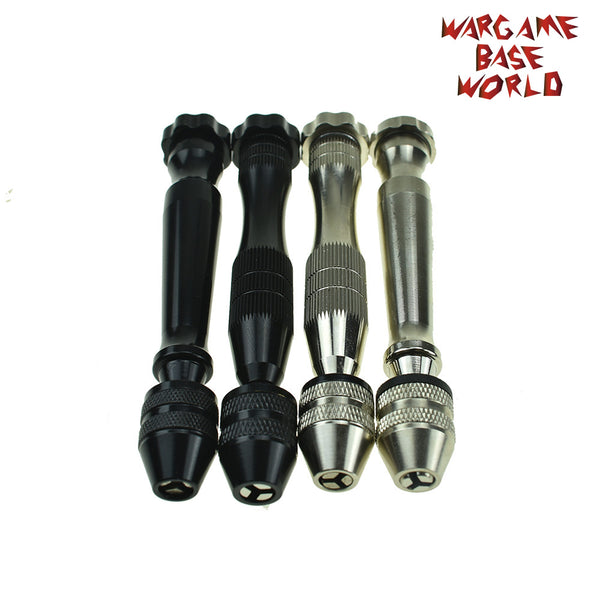 warhammer bases - Hand Drill With Keyless Chuck Twist Drills Rotary Tools Carving - tools - WargameBase Store