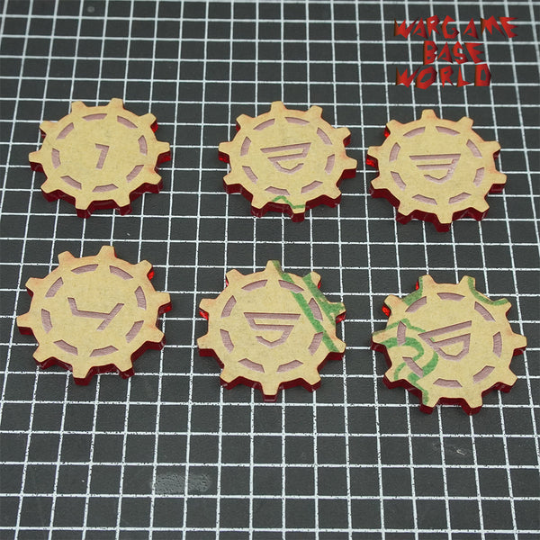 Wargaming Accessory Set - objective marker -6pcs - WargameBase Store