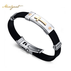 Meaeguet Cross Bracelet For Men and Women