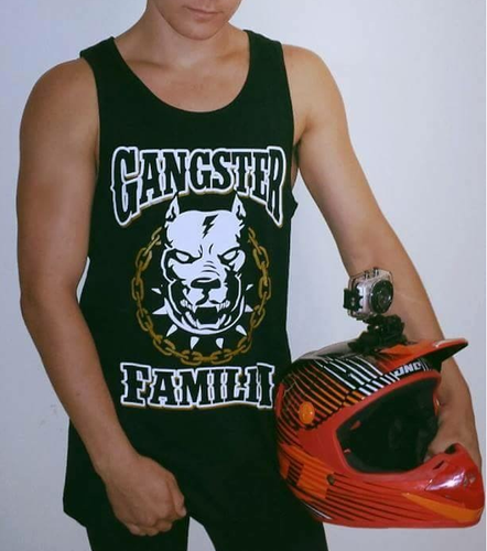 The Original Gangster Familia Logo Singlet