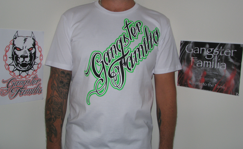 Original Gangster Familia Logo White/Green