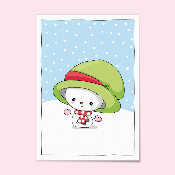 Little Snowman Card