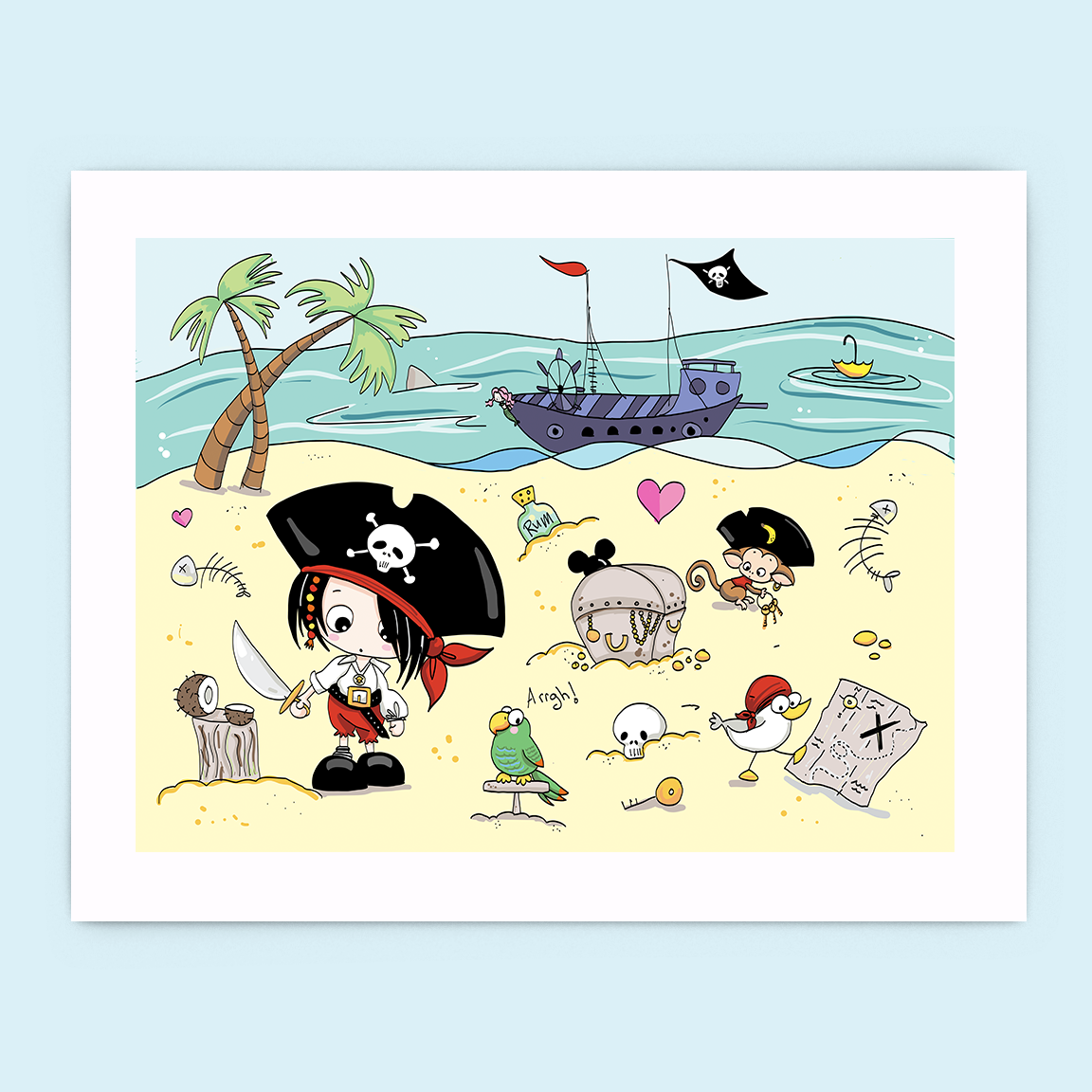 A Pirate's Life for Me Print