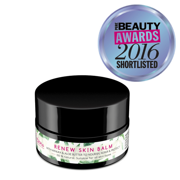 Award winning skin balm for chemotherapy patients