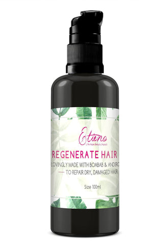 Etieno Regenerate hair growth and repair oil for chemotherapy hair and scalp