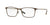 Burberry BE1309Q Rectangle Eyeglasses  1212-BRUSHED BROWN 54-17-145 - Color Map brown
