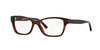 Burberry BE2144 Cat Eye Eyeglasses  3349-HAVANA 51-16-140 - Color Map havana