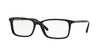 Burberry BE2199F Rectangle Eyeglasses  3001-BLACK 55-17-145 - Color Map black