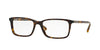 Burberry BE2199F Rectangle Eyeglasses  3002-DARK HAVANA 55-17-145 - Color Map havana