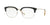 Burberry BE2273 Square Eyeglasses  3001-BLACK/SILVER 54-18-145 - Color Map black