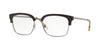 Burberry BE2273 Square Eyeglasses  3002-DARK HAVANA/GUNMETAL 54-18-145 - Color Map havana
