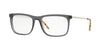Burberry BE2274 Rectangle Eyeglasses  3544-GREY 55-18-145 - Color Map grey