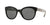 Burberry BE4210 Cat Eye Sunglasses  300187-BLACK 52-22-140 - Color Map black