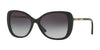 Burberry BE4238 Butterfly Sunglasses  30018G-BLACK 57-17-140 - Color Map black