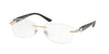 Bvlgari BV2190B Rectangle Eyeglasses  2014-PINK GOLD 53-16-140 - Color Map gold
