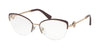 Bvlgari BV2198B Cat Eye Eyeglasses  2035-PLUM/PINK GOLD 53-18-140 - Color Map purple/reddish