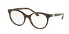 Bvlgari BV4134BF Round Eyeglasses  504-DARK HAVANA 51-19-140 - Color Map havana