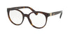 Bvlgari BV4152 Round Eyeglasses  504-DARK HAVANA 51-19-140 - Color Map havana