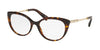 Bvlgari BV4168KB Oval Eyeglasses  5193-DARK HAVANA 56-17-140 - Color Map havana