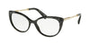 Bvlgari BV4168KB Oval Eyeglasses  5412-BVLGARI BLACK MAMBA 56-17-140 - Color Map black