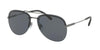 Bvlgari BV5044 Pilot Sunglasses  195/81-MATTE GUNMETAL 60-14-145 - Color Map gunmetal
