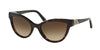 Bvlgari BV8156B Cat Eye Sunglasses  504/13-DARK HAVANA 54-20-140 - Color Map havana