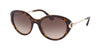 Bvlgari BV8216BF Oval Sunglasses  504/13-DARK HAVANA 54-19-140 - Color Map havana