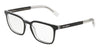 DOLCE & GABBANA DG3307 Square Eyeglasses  675-TOP BLACK ON CRYSTAL 53-19-145 - Color Map black