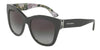 DOLCE & GABBANA DG4270F Square Sunglasses  31518G-GREY ON PRINT HYDRANGEA 55-19-140 - Color Map grey