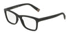 DOLCE & GABBANA DG5019 Rectangle Eyeglasses  1934-MATTE BLACK 54-18-145 - Color Map black