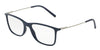DOLCE & GABBANA DG5024 Rectangle Eyeglasses  3094-BLUE 55-18-145 - Color Map blue