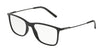 DOLCE & GABBANA DG5024 Rectangle Eyeglasses  501-BLACK 55-18-145 - Color Map black