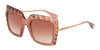 DOLCE & GABBANA DG6111 Square Sunglasses  314813-PINK 51-22-135 - Color Map pink