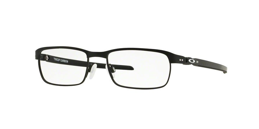 Oakley Optical TINCUP CARBON OX5094 Rectangle Eyeglasses  509401-POWDER COAL 54-17-138 - Color Map black