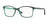 Oakley Optical VALIDATE OX5097 Rectangle Eyeglasses  509705-JADE 53-16-136 - Color Map green