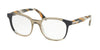 Prada PR04UV Pillow Eyeglasses  VYM1O1-BLUE 52-19-145 - Color Map blue