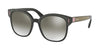 Prada CATWALK PR05US Square Sunglasses  SVK5O0-BLACK/BROWN/PINK 53-18-140 - Color Map brown