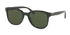 Prada PR08US Square Sunglasses  1AB1I0-BLACK 54-19-145 - Color Map black