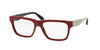Prada PR16RV Square Eyeglasses