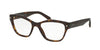 Prada PR27SV Cat Eye Eyeglasses  2AU1O1-HAVANA 53-17-140 - Color Map havana