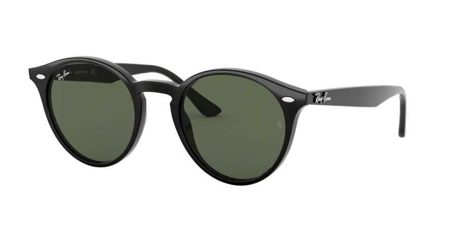 Ray-Ban RB2180F Phantos Sunglasses  601/71-BLACK 49-20-150 - Color Map grey