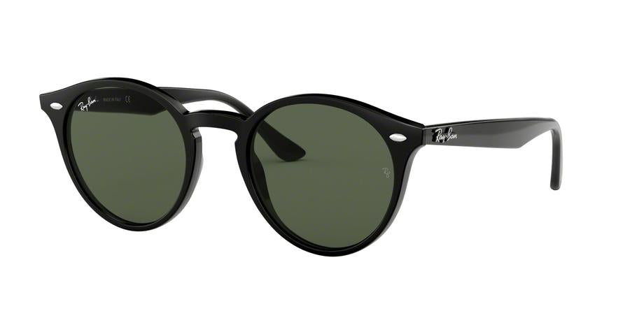 Ray-Ban RB2180 Phantos Sunglasses  601/71-BLACK 51-21-150 - Color Map black