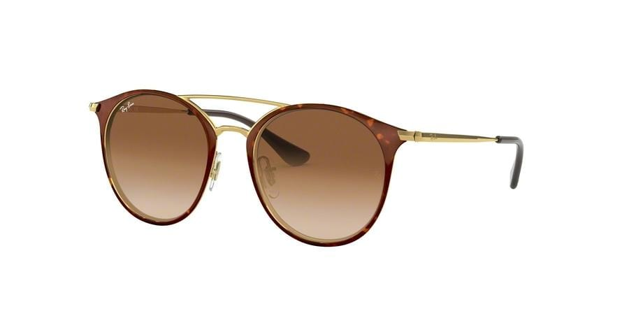 Ray-Ban Junior RJ9545S Phantos Sunglasses  270/13-GOLD ON TOP HAVANA 47-17-130 - Color Map gold