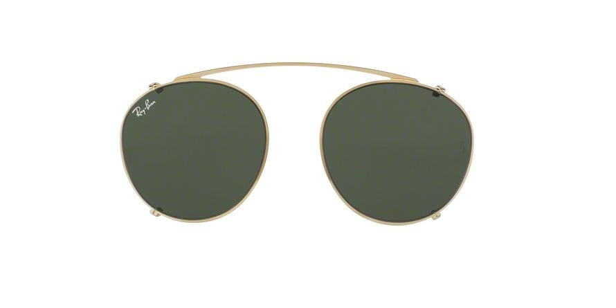 Ray-Ban Optical CLIP ON RX2180C Phantos Clip-On  250071-GOLD 49-21-0 - Color Map gold