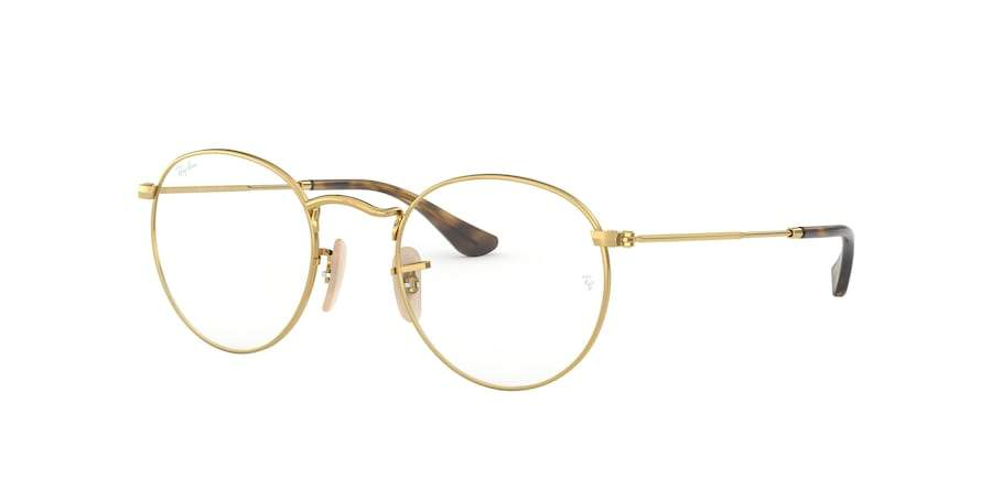 Ray-Ban Optical ROUND METAL RX3447V Round Eyeglasses  2500-GOLD 50-21-145 - Color Map gold