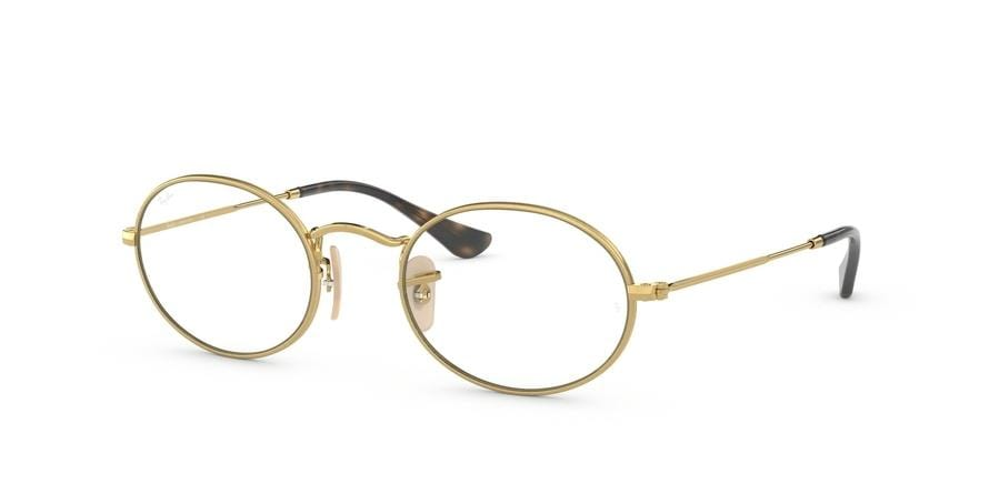 Ray-Ban Optical OVAL RX3547V Oval Eyeglasses  2500-ARISTA 51-21-145 - Color Map gold