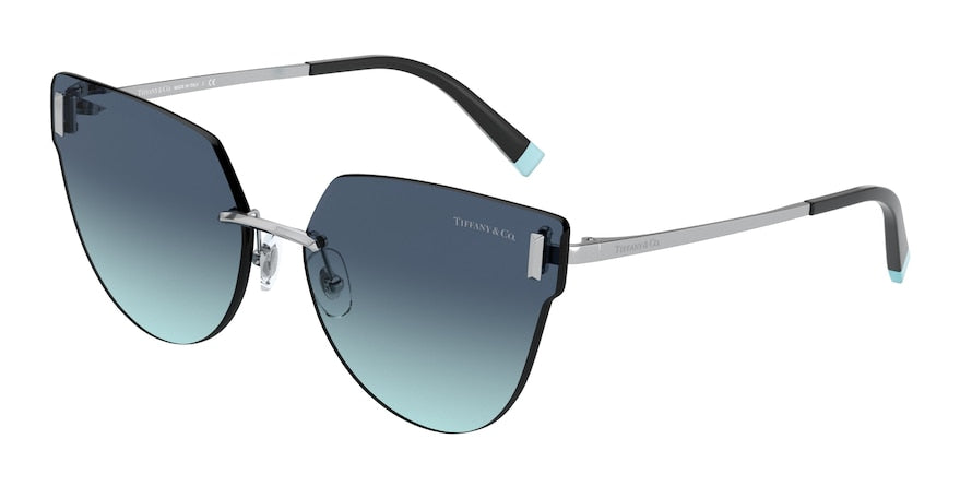 Tiffany TF3070 Irregular Sunglasses  60019S-SILVER 62-15-140 - Color Map silver