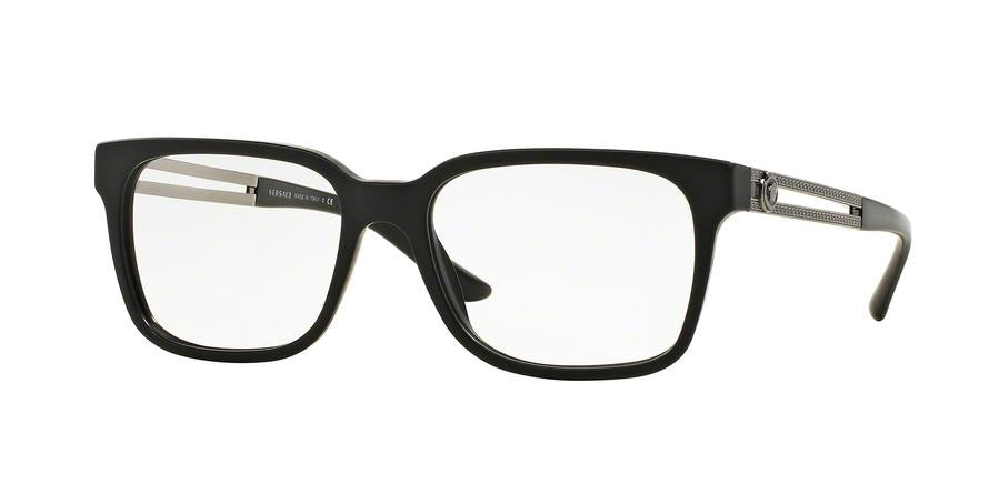 Versace VE3218 Square Eyeglasses  5122-BLACK SAND 53-17-140 - Color Map black