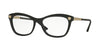 Versace VE3224 Butterfly Eyeglasses  GB1-BLACK 54-17-140 - Color Map black